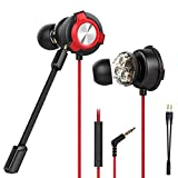 CLAW G13 Triple Driver Gaming Earphones with Dual Microphone and 3D Stereo Sound for Mobile Phones,...