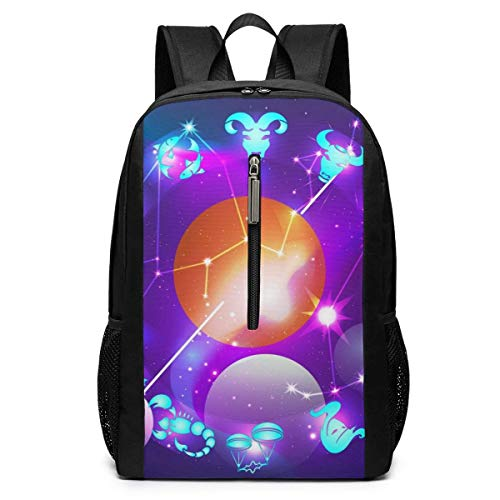 School Travel Business Bag Laptop BackpackOld Cracked Paint Black Marble Laptop Backpack Shoulder Bookbags Bag for Womens Mens Youth 17'