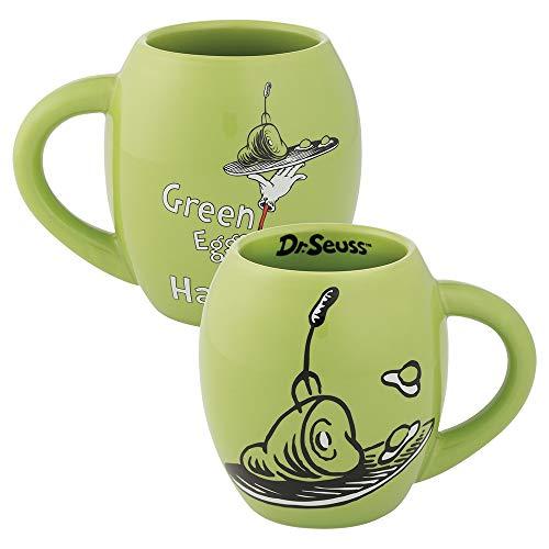 Dr. Seuss Green Eggs and Ham 18 oz. Oval Ceramic Mug