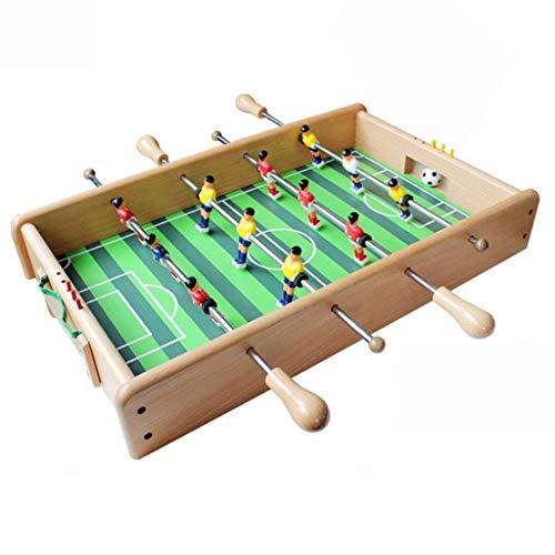 Mesa de Juego multifunción 2 en 1, fútbol de Mesa y Hockey, Mesa de Juego Hecha de Madera de Haya, Seguridad y protección del Medio Ambiente