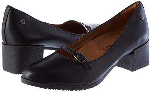 Shoes for Crews Women's 57487-38/5 REESE Elegant Slip On Shoes - Black, Size 38