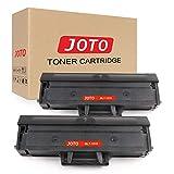 JOTO MLT-D101S(1500 páginas) Compatible Cartucho Reemplazo Para Samsung ML-2160 ML-2165 scx-3405 scx-3400 SCX-3405 SCX-3405FW SCX-3405F SCX-3405W ML-2164W ML-2165W SCX-3400F SF-760P,2 Negro