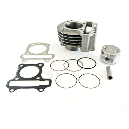 NAVARME 139QMB 100cc Scooter Engine Big Bore Kit GY6 50mm Cylinder GY6 4 Stroke Motor