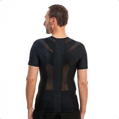 Anodyne Posture Shirt 2.0 Zip (z zamkiem błyskawicznym) – męska | Black FriDAY | korekta postawy pleców i barków | zmniejsza ból i napięcie | sprawdzona medycznie i dopuszczona do użytku |