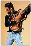 DINGDONG ART Bild Auf Leinwand 40x60cm Kein Rahmen George