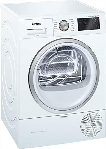 Siemens iQ500 WT7WH608IT Libera installazione Carica frontale 8kg A++ Bianco asciugatrice
