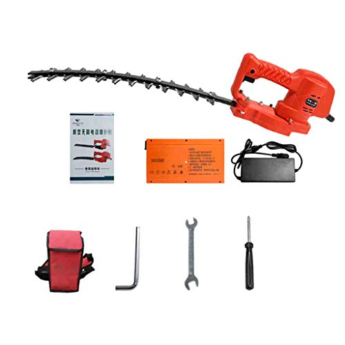 New Electric Hedge Cutter, 400 Mm Blade Length, Hedge Trimmer Household Rechargeable Electric Trimme...