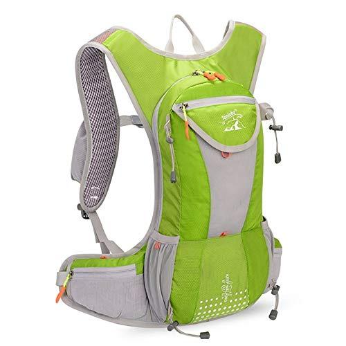 CMZ Rucksack Langlauf-Rucksack 15L Outdoor-Laufsack Leichtgewicht ohne Schütteln des Wassersacks 2L Marathon