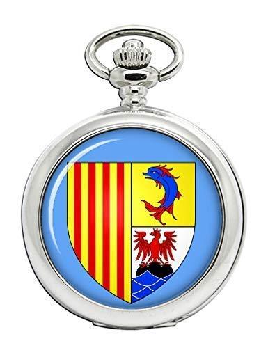 Provence-Alpes-côte d 'Azur (Francia) Full Hunter reloj de bolsillo