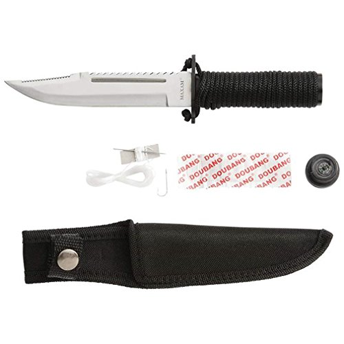 Maxam Tactical 9.25 Survival Knife...