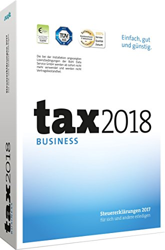tax 2018 Business (für Steuerjahr 2017) (Buhl Finance)