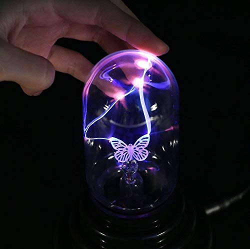 SUNSHIN Bola mágica de Plasma USB Bombilla de luz de la Esfera electrostática Sensible al Tacto Desk Light Magic iluminación de la decoración