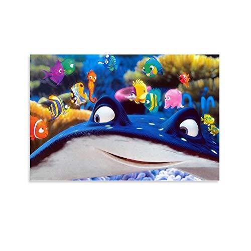 DRAGON VINES Lienzo impreso de película animada Buscando a Nemo Dory para dormitorio 40 x 60 cm