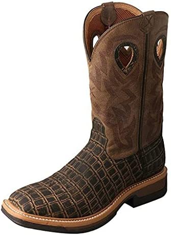 Twisted X Men's Alloy Toe Lite Western Boots - Casual Boots for Men