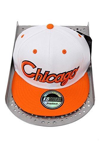 Hip Hop Caps - Casquette de Baseball - Homme - Multicolore - White / Yellow - Taille unique