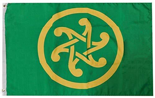 JumpingLight Pan Celtic Celticism 100D Woven Poly Nylon 2x3 2x3 Flag Banner Grommets - Quality Flags