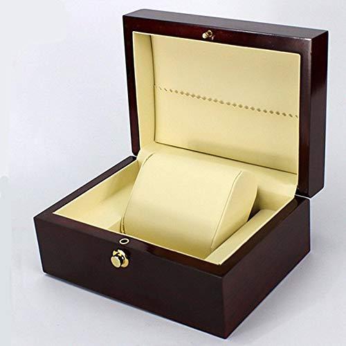 ExcLent Luxus Wrist Watch Box Handmade Wooden Case Schmuck Geschenkbox
