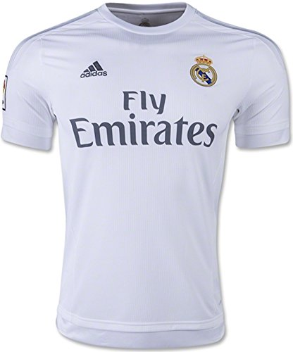 adidas Real Madrid CF Home Authentic Jersey-White (XL)
