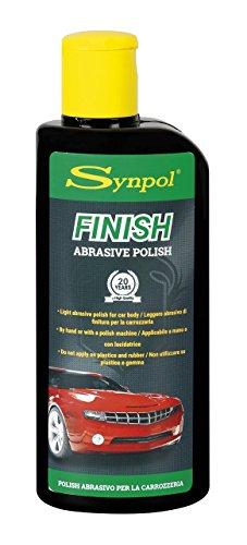 Synpol Finish Moderate Abrasive Prodotto per la lucidatura dell'auto, abrasivo moderato, 200 ml