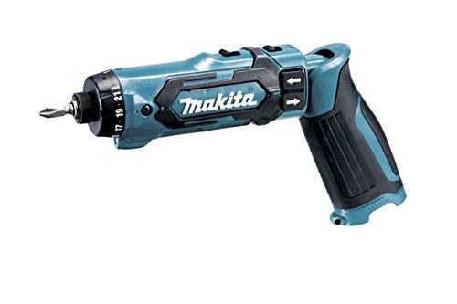 Makita Akku-Knickschrauber (7,2 V, ohne Akku, max. Drehmoment 8,0 Nm, 2-Gang Getriebe, 21-fache Drehmomenteinstellung) DF012DZ