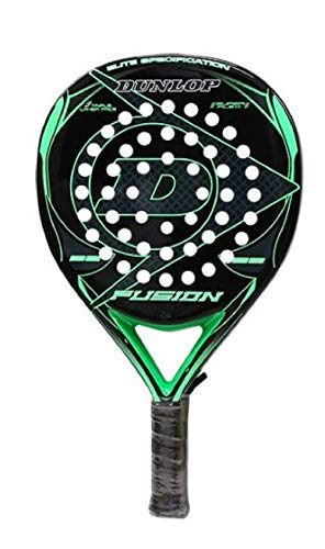 DUNLOP Padel Pala Fusion Elite Green 355grs 38mm