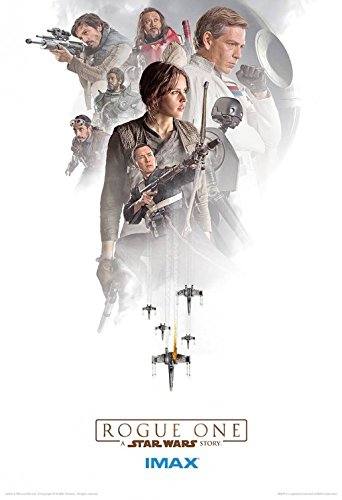 STAR WARS ROGUE ONE: A STAR WARS STORY Authentic Original Movie AMC IMAX EXCLUSIVE(3 of 3) Promo Poster - 13 x 19