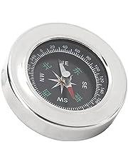 Campingowy kompas survivalowy, kompas kempingowy ze stali nierdzewnej Kompas na orientację 60mm Piesze wycieczki Kompas z plecakiem na kemping Piesze wycieczki na zewnątrz
