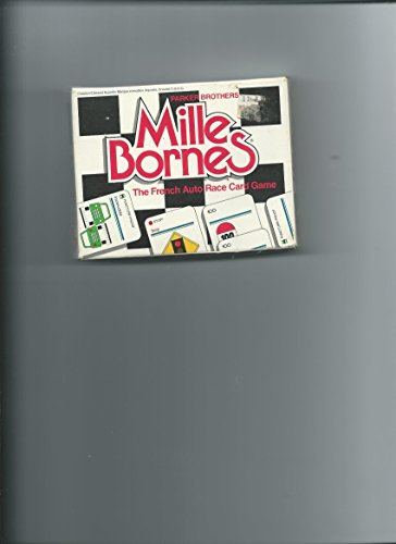 Mille Bornes by Parker Brothers  1975 Edition  The French Auto Race Card Game