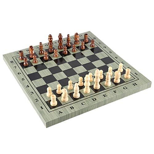 HJUIK Conjunto de Juegos de ajedrez Tablero Plegado De Ajedrez 4 Torneos Torneos Torneos Torneos Portátiles Conjunto De Ajedrez Portátil Tabla De Ajedrez Plegable Tablero De Ajedrez Conjuntos