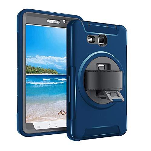 WLWLEO beschermhoes voor Samsung T280 3 in 1 all-inclusive houder 360 ° riem polsband