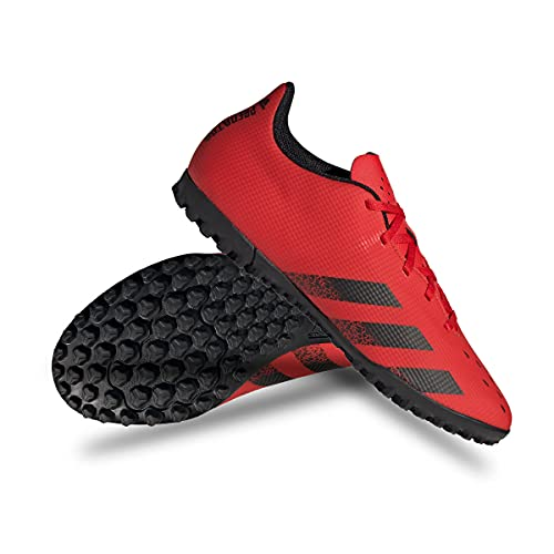 adidas Predator Freak .4 TF, Zapatillas Deportivas Hombre, Rojo/NEGBÁS/Rojo, 47 1/3 EU