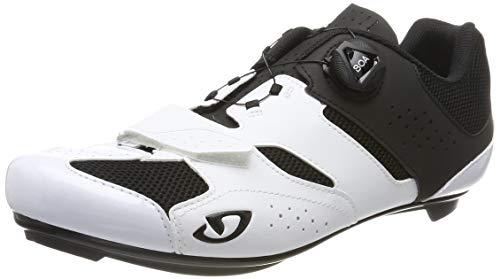 Giro Herren Savix Radsportschuhe - Rennrad, Mehrfarbig (White/Black 2), 43 EU