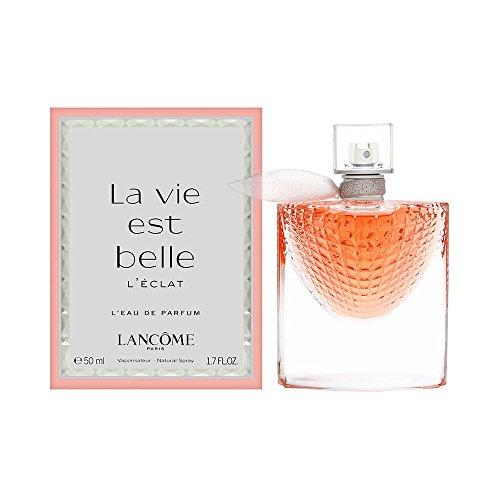 Lancôme (public) La Vie Est Belle L'Eclat 50 ml Mujeres - Eau de parfum (Mujeres, 50 ml, Envase no recargable, Azahar, Lirio, Jazmín, Pachuli, Vainilla)