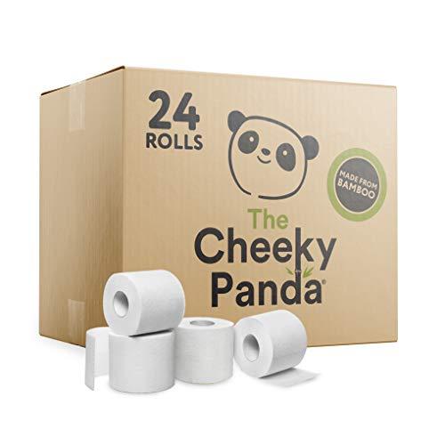 The Cheeky Panda Kunststofffreies Toilettenpapier, 2.88 kg, 24 stück