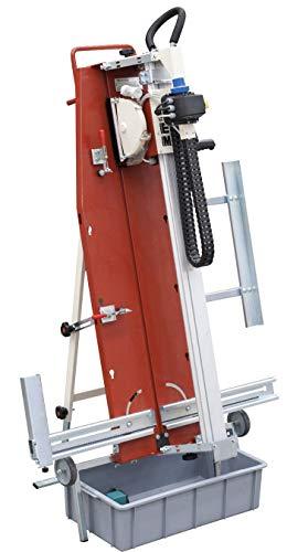 Cortadora Eléctrica Agua Vertical LEM 230V/50HZ con disco Ø200 para Azulejo, Cerámica, Marmol, etc de Raimondi (105 cm)