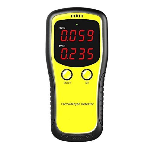 no-branded Bewegliche Digital-Formaldehyd-Detektor Haushalts Benzen Erkennung TVOC Air Quality Monitor Gas Analyzer Tester Meter XXYHYQHJD