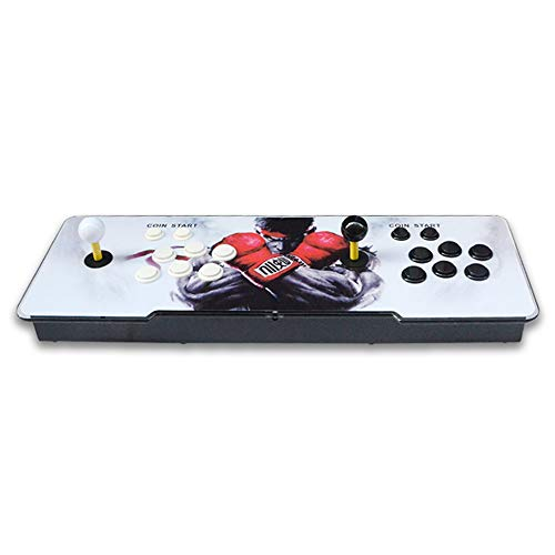 TTLIFE Arcade Spielekonsole 333 Spiele installiert 1280 * 720P HD Ausgang WiFi Connect 3D Pandora Schatzspiel geeignet für Computer, TV, Projektor, 2 Spieler Spielkonsole