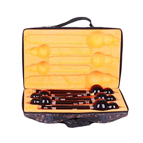 Fluiten Hulusi Bamboe Fluit Beginner Klarinet Hulusi Set 5 Chinese Fluit Geschikt voor Beginner Muziek Liefhebbers AS Gifts Chinees instrument (Kleur : G-key)