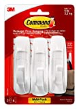 Damage-Free Hanging Weight Capacity: 5 pounds Size: Large Color: White Package Contents: 3 hooks, 6 strips