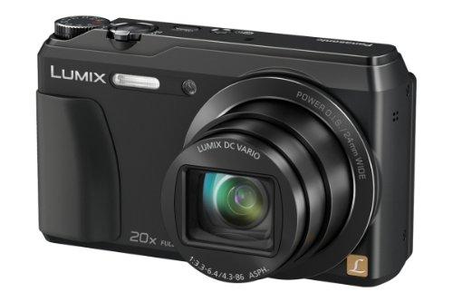 Panasonic DMC-TZ56EG-K Travellerzoom Kompaktkamera (16 Megapixel, 20-fach opt. Zoom, 7,6 cm (3 Zoll) LCD-Display, Full HD, WiFi, USB 2.0) schwarz