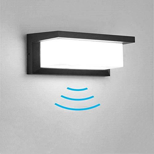 Elitlife 18W Wandleuchte Bewegungsmelder Aussen/Innen LED Wandbeleuchtung,Wasserdicht IP65 LED Aussen Wandleuchte Yangtze Aluminiumguss, Acryl [Energieklasse A+++]