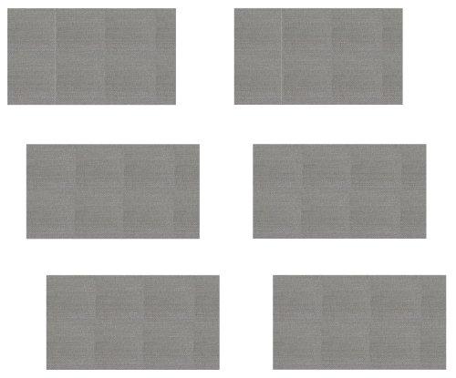 6 Stück Edelstahlsieb 50x30 mm (Gr&preis: EUR 0,82/Stück) 34my Mesh 400 Edelstahlsiebgewebe in Industriequalität/ESS Mod/Stainless Steel Mesh
