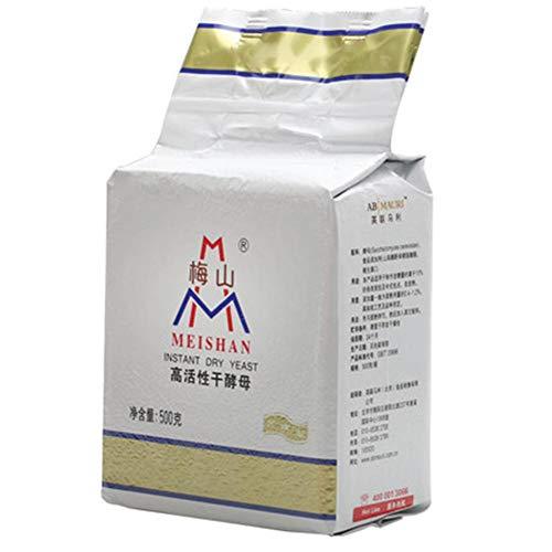[500g-Value Pack] Aktive Trockenhefe - Instant Premium Hefe Zum Backen - Hohe Zuckertoleranz Für Brot, Knödel, Pizza, Nudeln, 17,6 Unzen, (Einzelpackung)