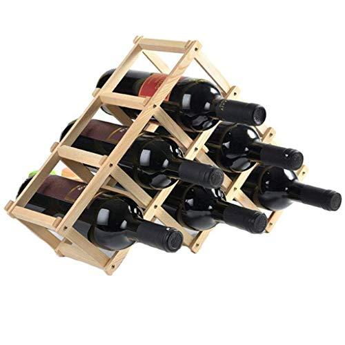 Caisse /à vin//casier /à vin Casier /à Bouteilles 12er Blanc//Naturel//flamm/é//Vernis Dimensions : 50 x 40 x 23 cm Casier /à Bouteilles