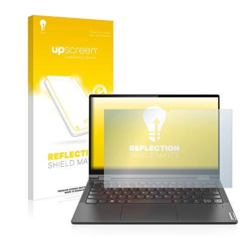 upscreen Entspiegelungs-Schutzfolie kompatibel mit Lenovo Yoga C640 – Anti-Reflex Bildschirmschutz-Folie Matt