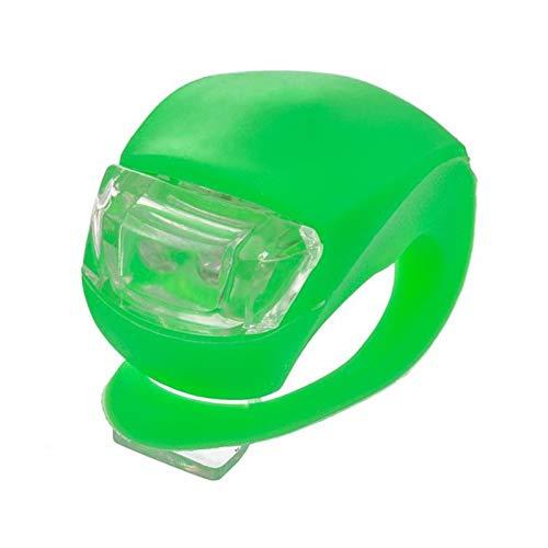 Luces de montar en bicicleta Intermitente Rueda de seguridad de silicona Luz...