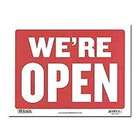 サインプレート Sサイズ オープン クローズ 両面【WE'RE OPEN SORRY WE'RE CLOSED】Sign Plate 看板 ガレージ インテリア アメリカン雑貨