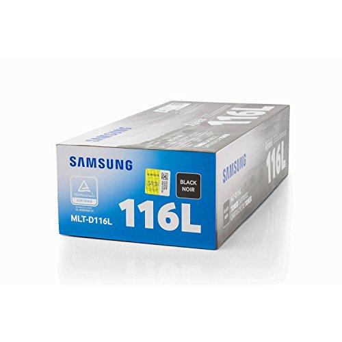 Original Samsung MLT-D116L / 116L, für Xpress M 2875 FW Premium Drucker-Kartusche, Schwarz, 3000 Seiten