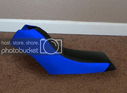 Moto Gear Graphics Seat Cover Compatible With Yamaha Moto 4 80 Badger Blue Seat Cover #MGGSL05853