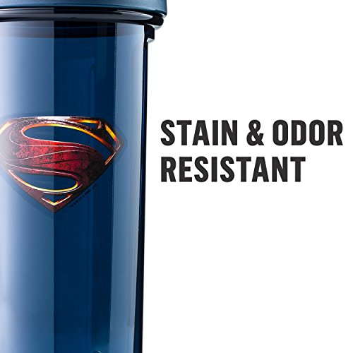Product Image 7: BlenderBottle Justice League Shaker Bottle Pro Series Perfect for Protein Shakes and Pre Workout, 32-Ounce, Superman